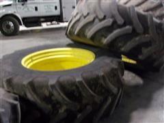 Firestone Tires And John Deere Rims
