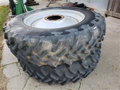 Goodyear 18.4_42 Duals Tires & Wheels