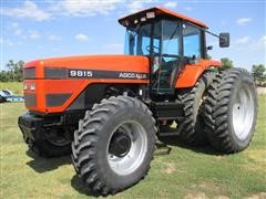 1995 Agco Allis 9815 MFWD Row Crop Tractor