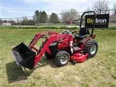 Mahindra 26XL HST MFWA Compact Utility Tractor W/Loader & Mower