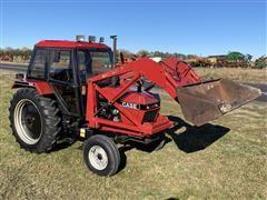 1985 Case IH 1394 2WD Tractor & Loader