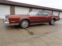 1973 Lincoln Continental Mark IV CM4-89 Antique 2 Door Coupe