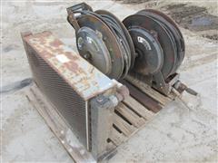 Hydraulic Hose Reels & Cooler w/Electric Fans