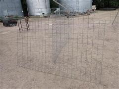 """Cattle Panels 8' X 5' W/3 3/4"""" Square Opening"""