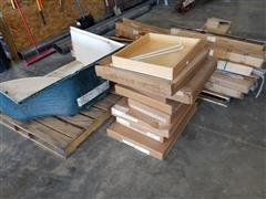 Drawers/Sliding Glass Doors/Banister Railing/Shower Base - Assorted Materials