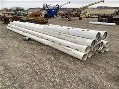 """10"""" PVC Gated Pipe"""