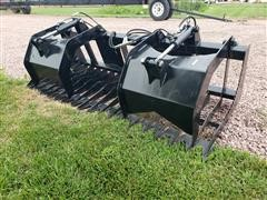 2020 Brute Rock/Brush Grapple Skid Steer Attachment