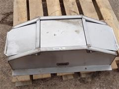 2 Hole Stainless Steel Hog Waterer