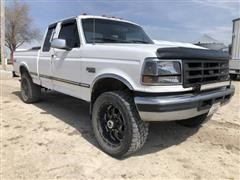 1996 Ford F250 XLT 4x4 Extended Cab Pickup