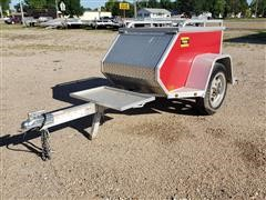 2014 Aluma MCT Motorcycle Trailer
