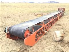 45' Conveyor Belt With Hopper
