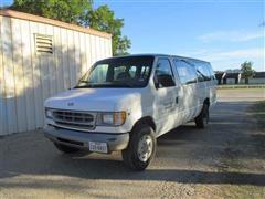1997 Ford Club Wagon XL Super 15 Passenger Van