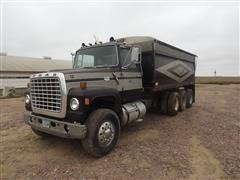 1974 Ford 9000 Tri/A Grain Truck W/Steel Box