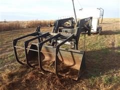 Dual 205 Loader With Grapple And Bucket