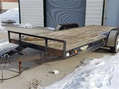 2006 H&H T/A Flatbed Trailer