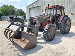 1995 Case IH 5240 MFWD Tractor W/Loader