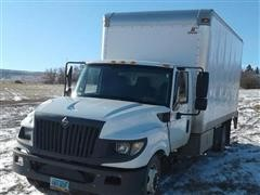 2012 International TerraStar Insulated Box Truck