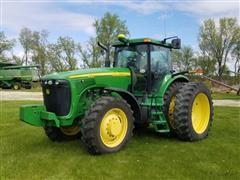 2002 John Deere 8120 MFWD Tractor