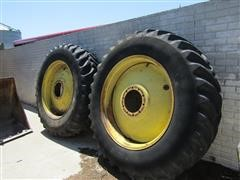 Coop Agri Radials 18.4R42 Dual Tires And Rims