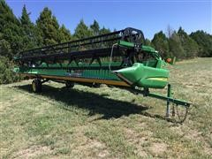 2006 John Deere 930D 30' Rigid Platform W/Built-In Transport