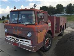 1970 Ford C750 Pumper Truck