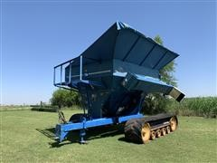 Kinze Conveyor 450C Grain Cart W/Caterpillar Rubber Tracks