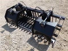 2020 Wolverine Skid Steer Mount Skeleton Grapple
