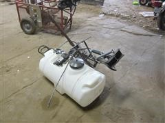 25 Gallon ATV Sprayer Tank W/Spray Wand