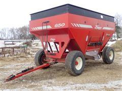 1998 Demco 650 Grain Wagon