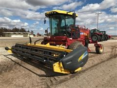 2009 New Holland H8040N Self-Propelled Swather