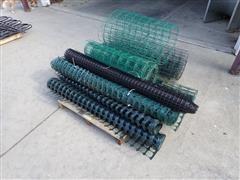 Rolls Of Garden Fencing