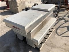 Weather Guard Truck Saddle & Side Toolboxes