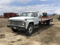 1979 Ford F700 2 Ton Flatbed Truck