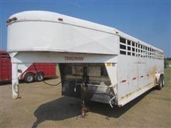 1992 Trailmann Livestock Trailer
