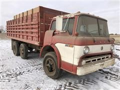 1973 Ford 600 Custom Cab Tilt Cab Straight Truck