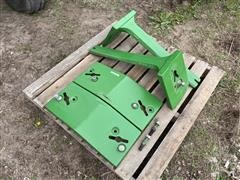 John Deere Front Slab Weights & Brackets