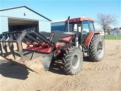 1995 Case IH 5240 MFWD Tractor/Loader