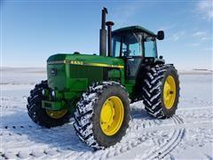 1988 John Deere 4650 MFWD Tractor