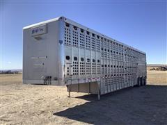 2011 Eby Bull Ride Tri/A Livestock Trailer