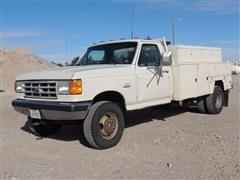 1989 Ford F-350 4x4 Service Truck