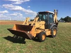 1996 Case 580 Super L MFWD Loader Backhoe