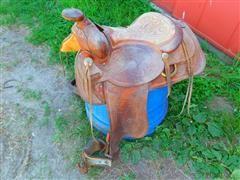 1947 Hereford Antique Saddle
