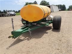 2-Wheel 750 Gallon Water Tender Trailer