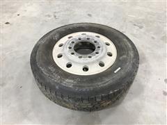 Kelly 11R-24.5 Tire & Rim