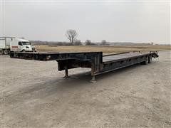1977 Muv-All 50-31A T/A Step Deck Trailer