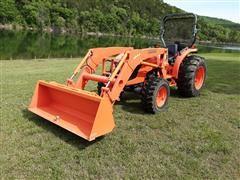 2010 Kubota MX5100 MFWD Tractor