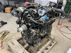 John Deere PowerTech 4045HFC92 4.5L 4 Cyl Turbo Charged Diesel Engine