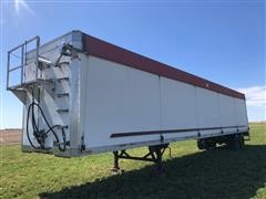 2000 Wilkens 53' T/A Walking Floor Trailer W/Electric Tarp
