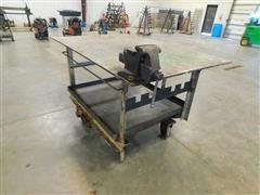Steel Shop Table