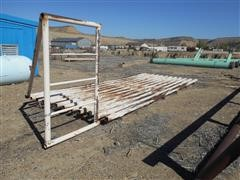 8' X 20' Auto Gate/Cattle Guard